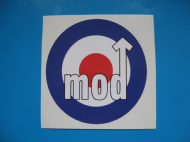 RAF Roundel mod style stickers/ decals x2